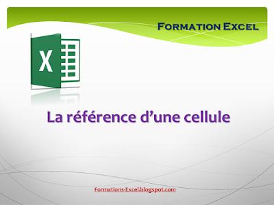 Référence de cellule Excel