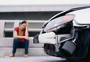 Auto insurance: when the car becomes a wreck