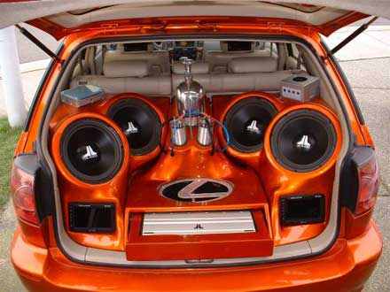 Woofer car speakers