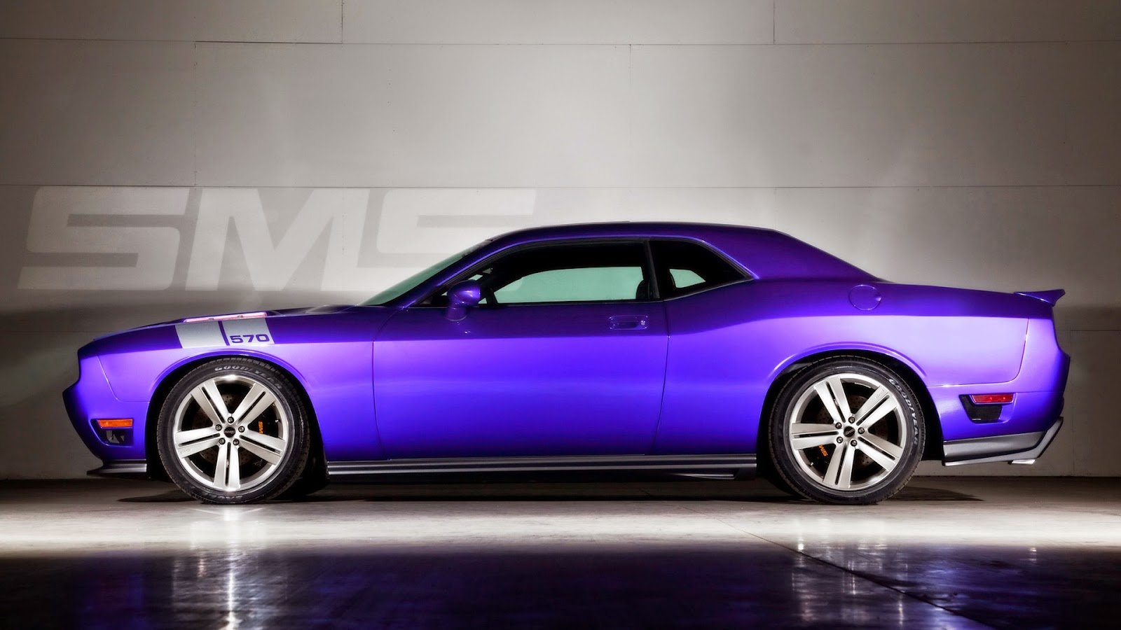 Purple Car White Shadow Best Car HD Photos