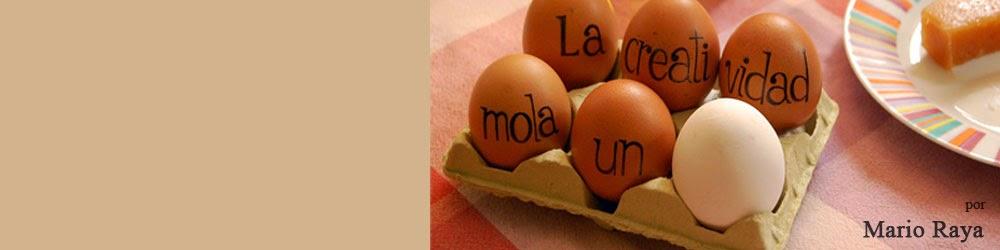 La creatividad mola un huevo