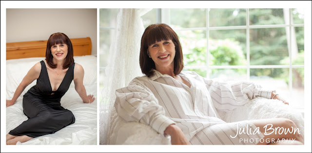 Confident Mature Woman by Bellevue Boudoir Photographer