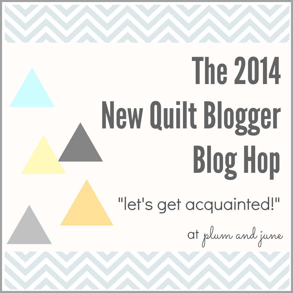 Plum and June Blog Hop for new Modern Quilters