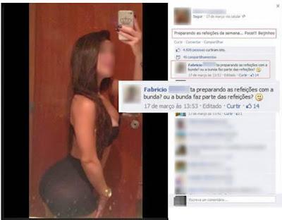Mulher Foi se exibir no Facebook e acabou humilhada