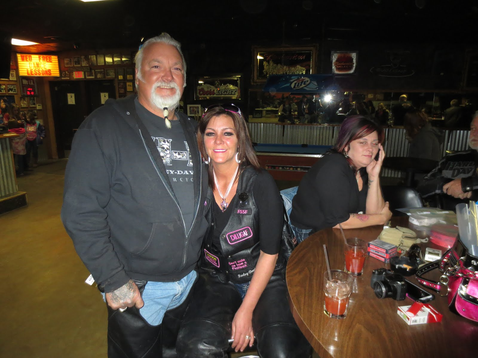 North texas bikers v fssf benefit run for ope 1 13 2012 for Tattoo shops in wichita falls tx