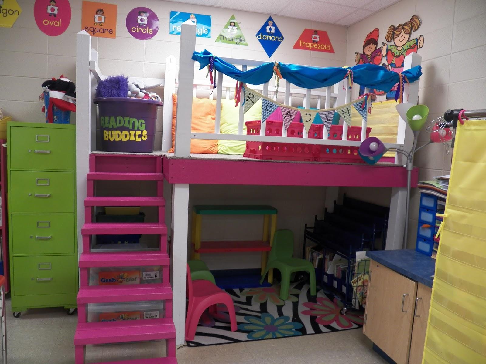 Classroom Loft Ideas : Mrs mayas kindergarten classroom tour