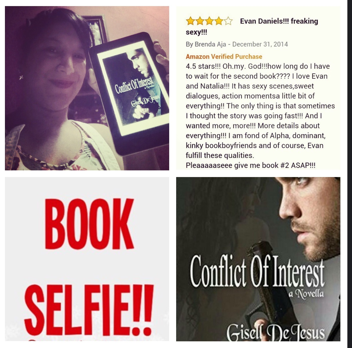 http://www.amazon.com/Conflict-Interest-Gisell-DeJesus-ebook/dp/B00PEWC7WS/ref=sr_1_1?ie=UTF8&qid=1424270701&sr=8-1&keywords=gisell+dejesus