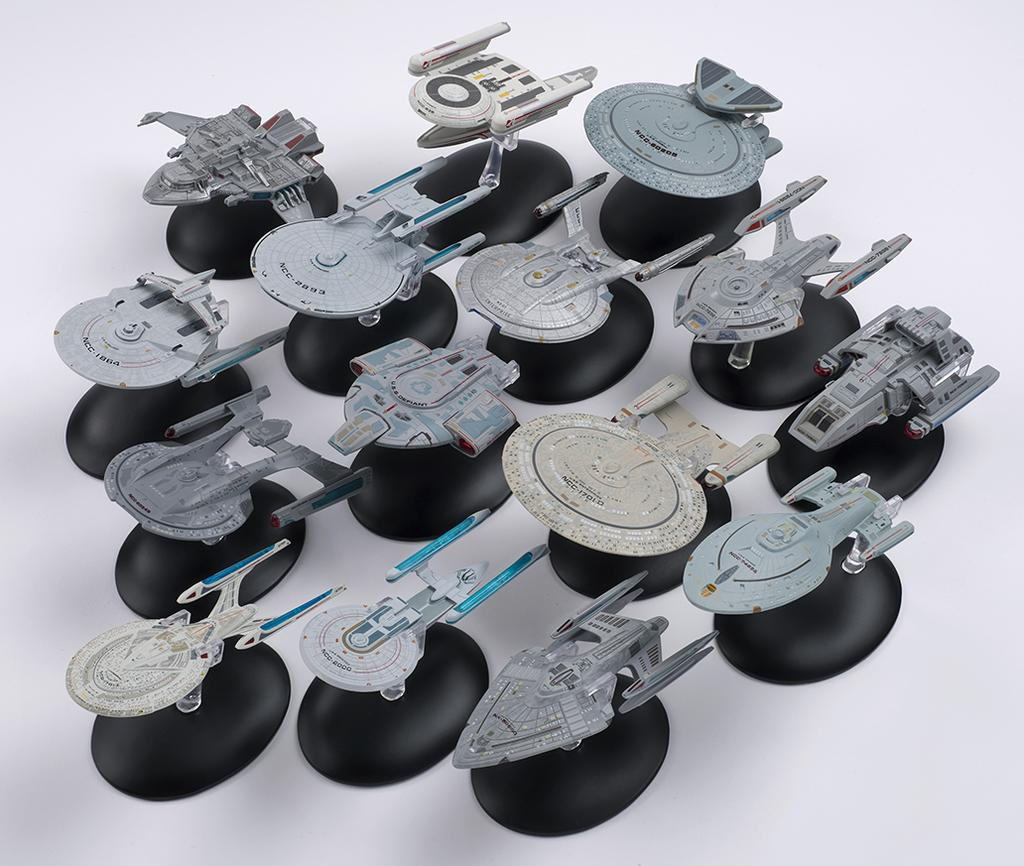 The Trek Collective: More images of Starships Collection's ...