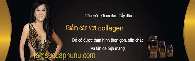 Thuốc giảm cân nhanh Collagen Slim 30 viên của USA