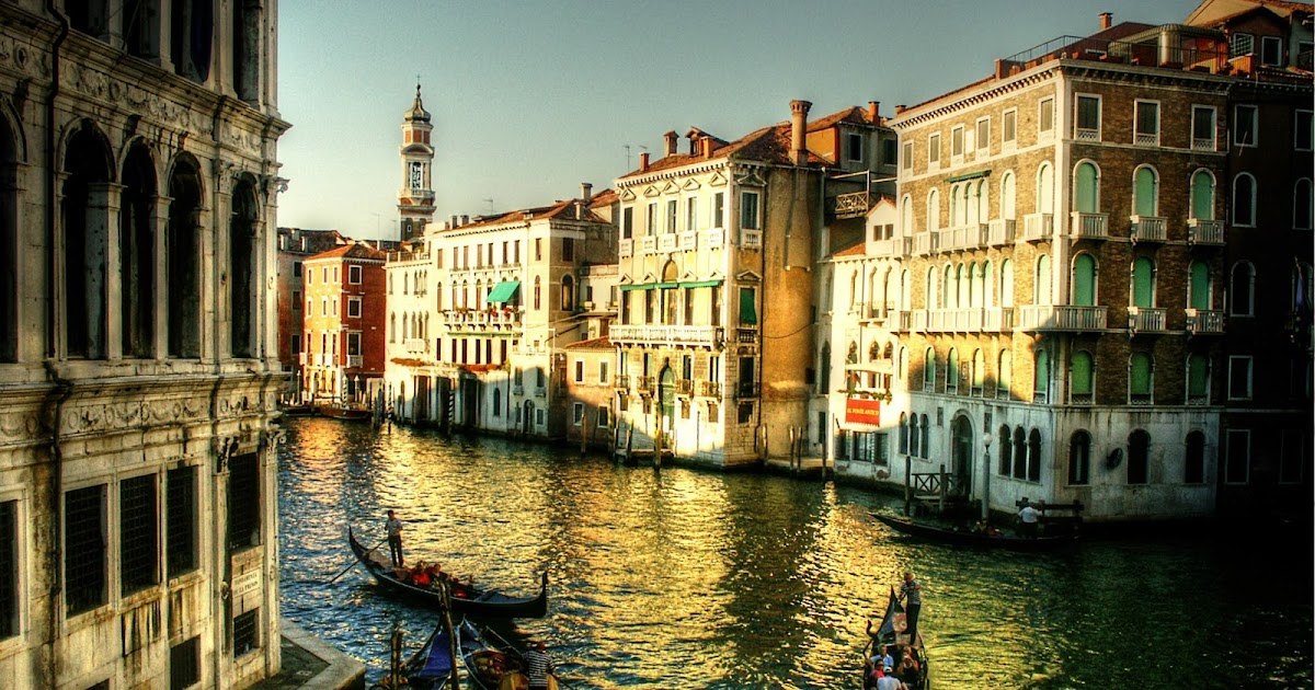 World Travel Places Venice Beautiful City In Italy