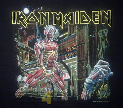 iron maiden somewhere back in time world tour 2008 shirt