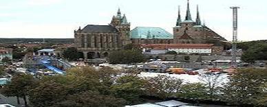 Erfurt Domplatz live camera