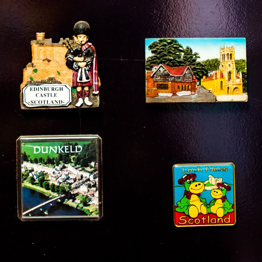 Magnets make excellent gifts too, especially for someone who collects magnets. They are small and easy to carry and for a collector, they are priceless. My friends also support my magnet mania. They often bring back magnets for me from other countries. And as a result, I have several magnets from places I have never visited - China, Singapore, and such. And I love them all. They make me want to travel more and visit these places too.