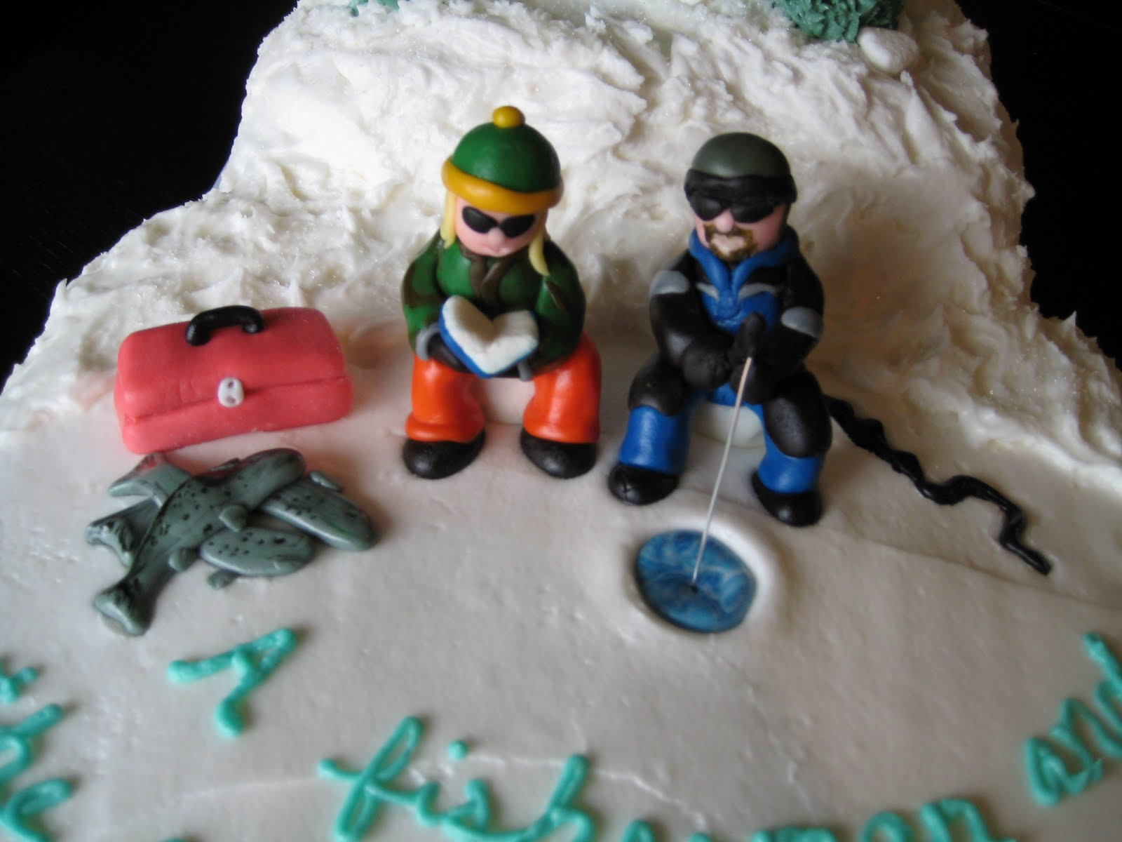 Fishing Cake Toppers For Birthday Cakes