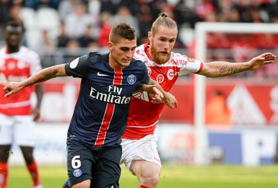 Reims 1 x 1 PSG - Campeonato Francês(Liga 1) 2015/16