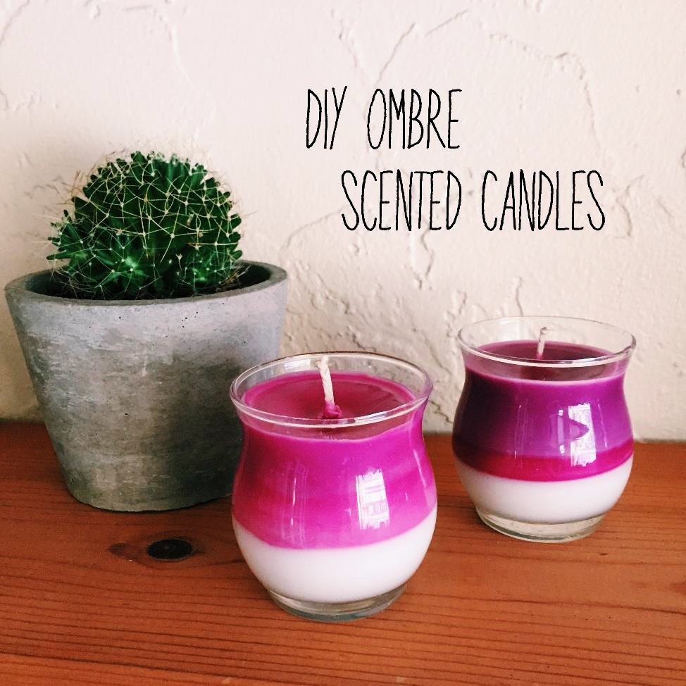 Diy Candles Will Design Diy Ombre Scented Candles