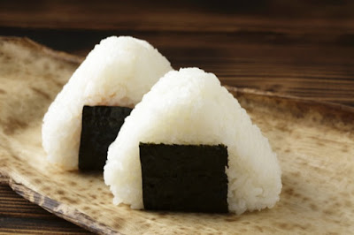 Rice balls are one of the famous dish in Japan