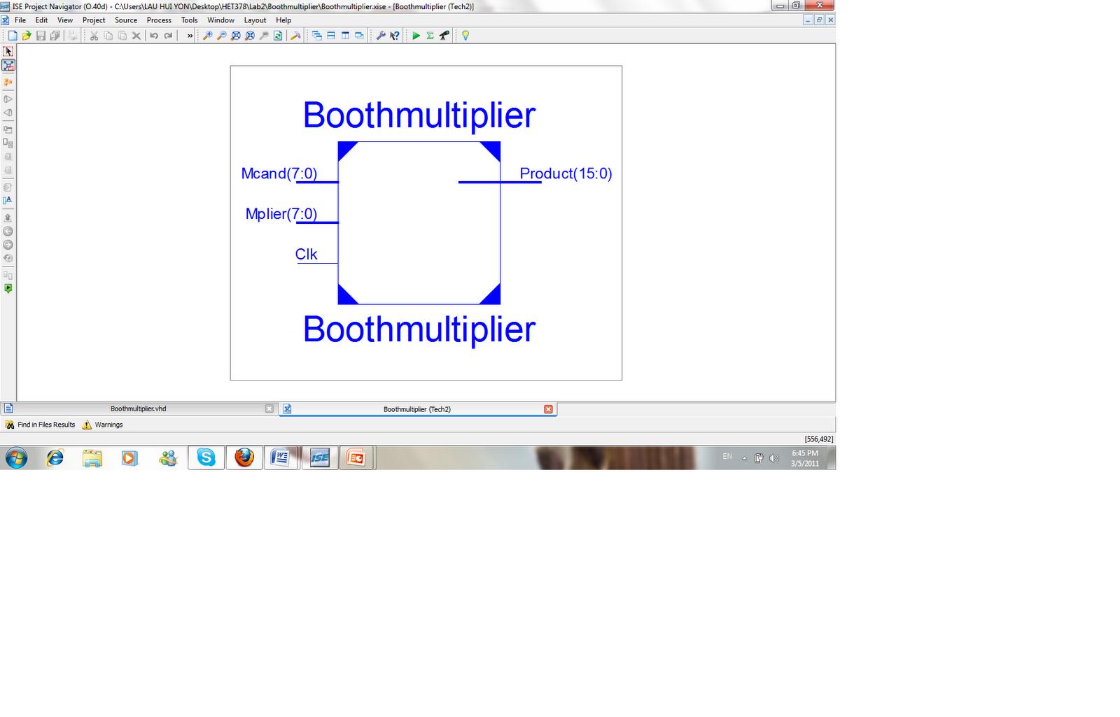 Vhdl Integrated Circuit Design Labs Figure1 1 Bit Adder Figure 3 Question2 Schematic Diagram
