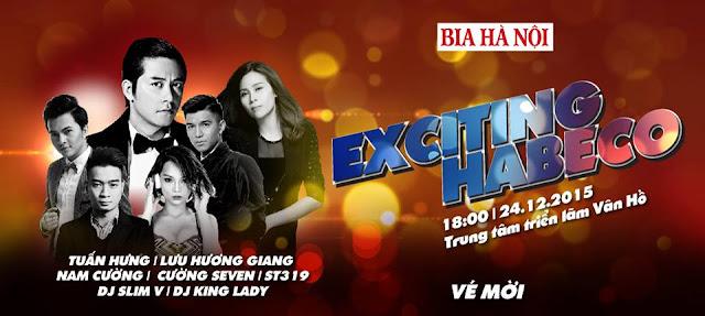 Họp báo công bố chương trình Exciting Habeco