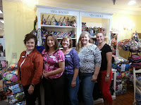 The Girls at Mr. Tablecloth in Gatlinburg TN