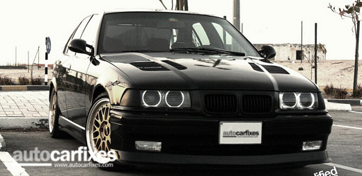 The BMW E36 is produced in the third generation of the car towards the BMW 3