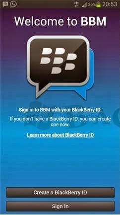 Download Blackberry Messenger BBM for Android