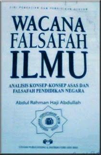 Tajuk: Wacana Falsafah Ilmu: Analisis Konsep-Konsep Asas Dan Falsafah ...