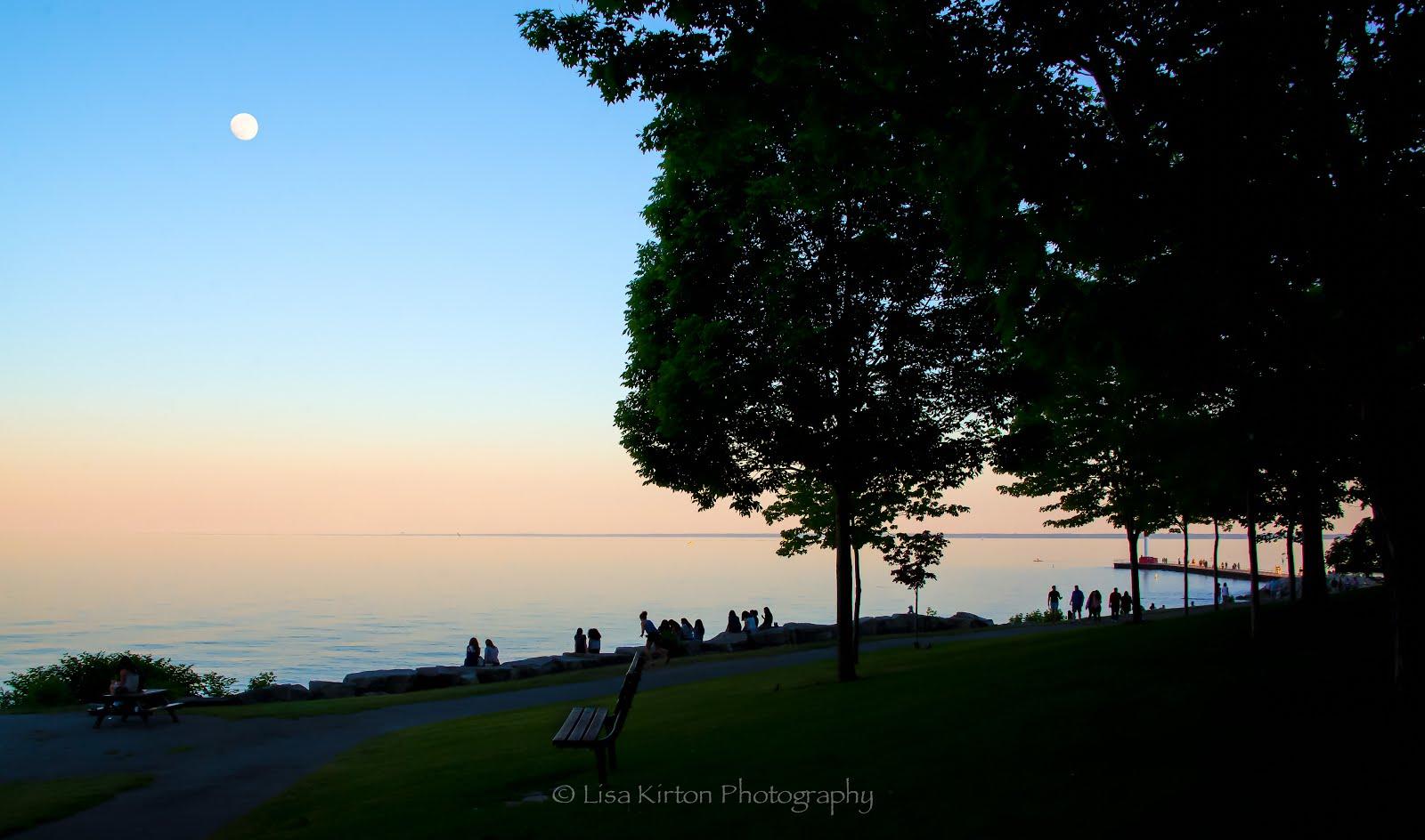 Lakeside Park Sunset, Oakville