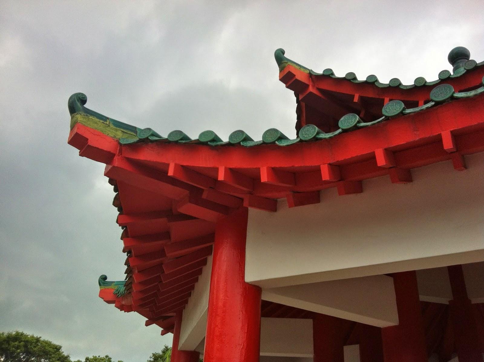 Kusu island pavilion