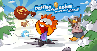 Club Penguin Puffle Digging Guide