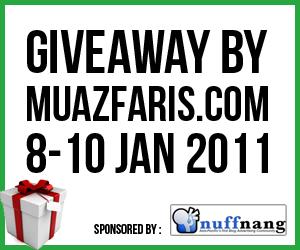 Giveway Tiket Wayang oleh Muazfaris 2012