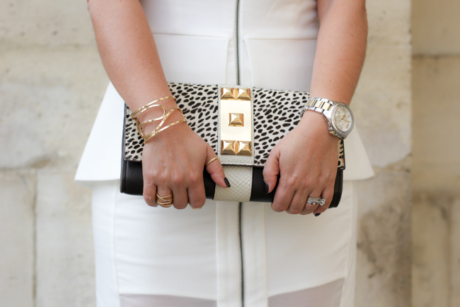 animal print clutch from TJ Maxx