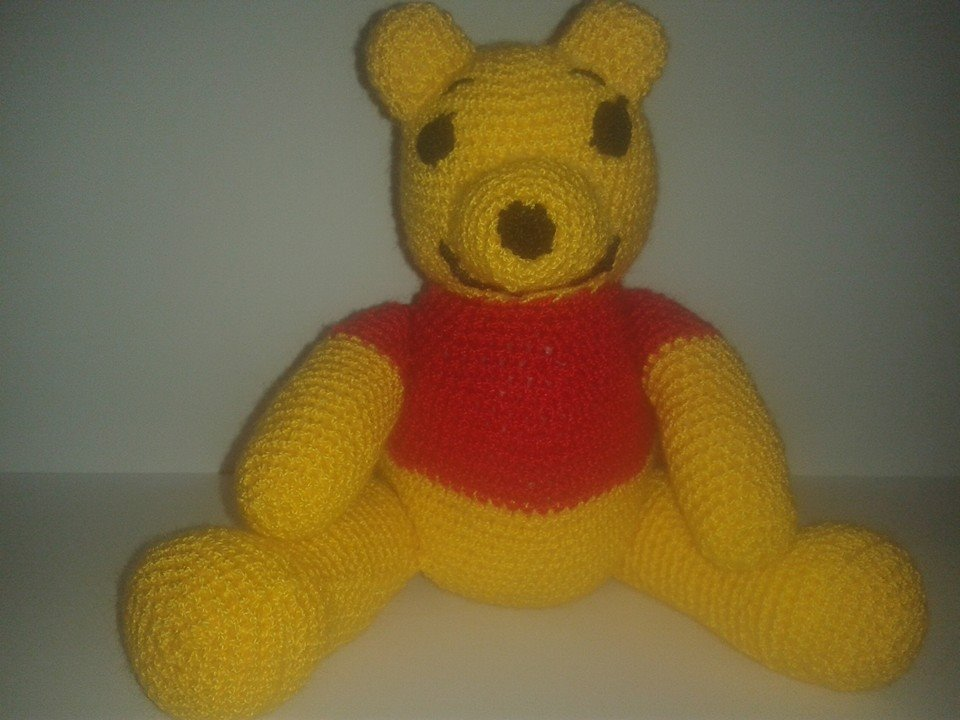 Patron Amigurumi Eeyore : patron amigurumis de Winnie the pooh
