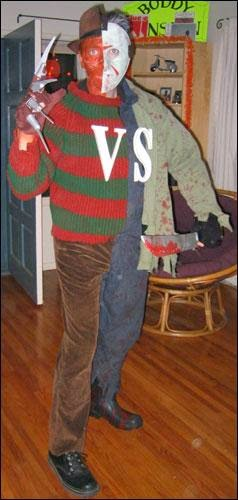 Freddy vs Jason Halloween Costume