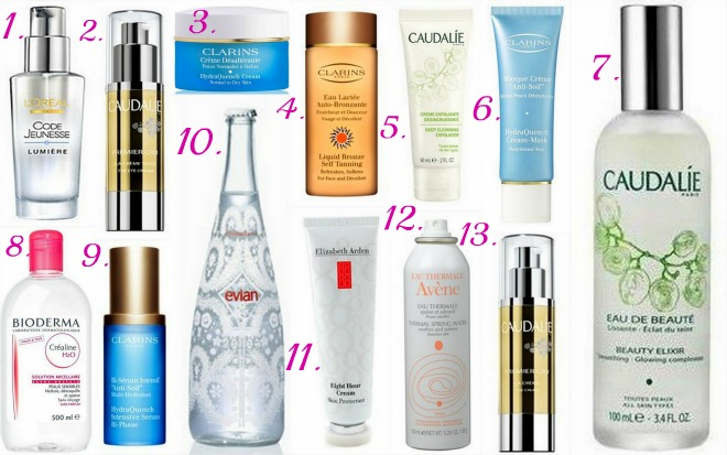 best french face creams