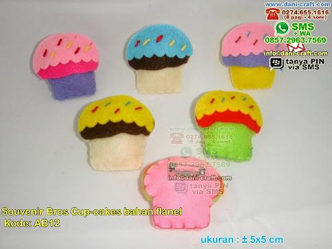 souvenir bros cup cake flanel