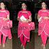 Singer Kausalya Pink Churidar