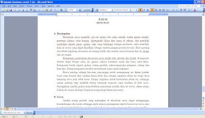 Biologi Kelas 10 Makalah Ekosistem