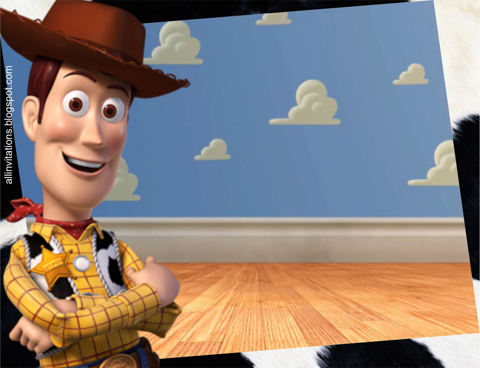 Toy Story Woody Face