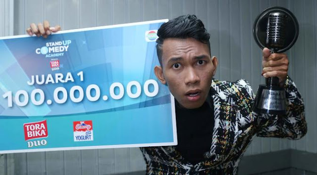 Cemen Juara 1 Stand Up Comedy Academy Indosiar