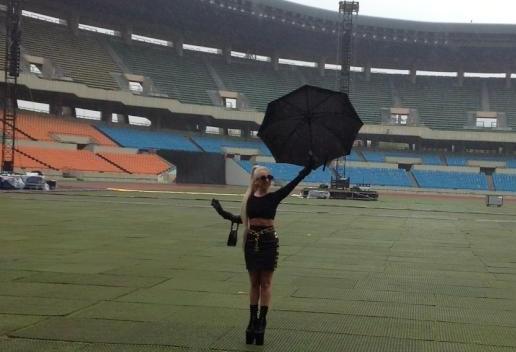 Resultado de imagem para Seoul Olympic Stadium lady gaga