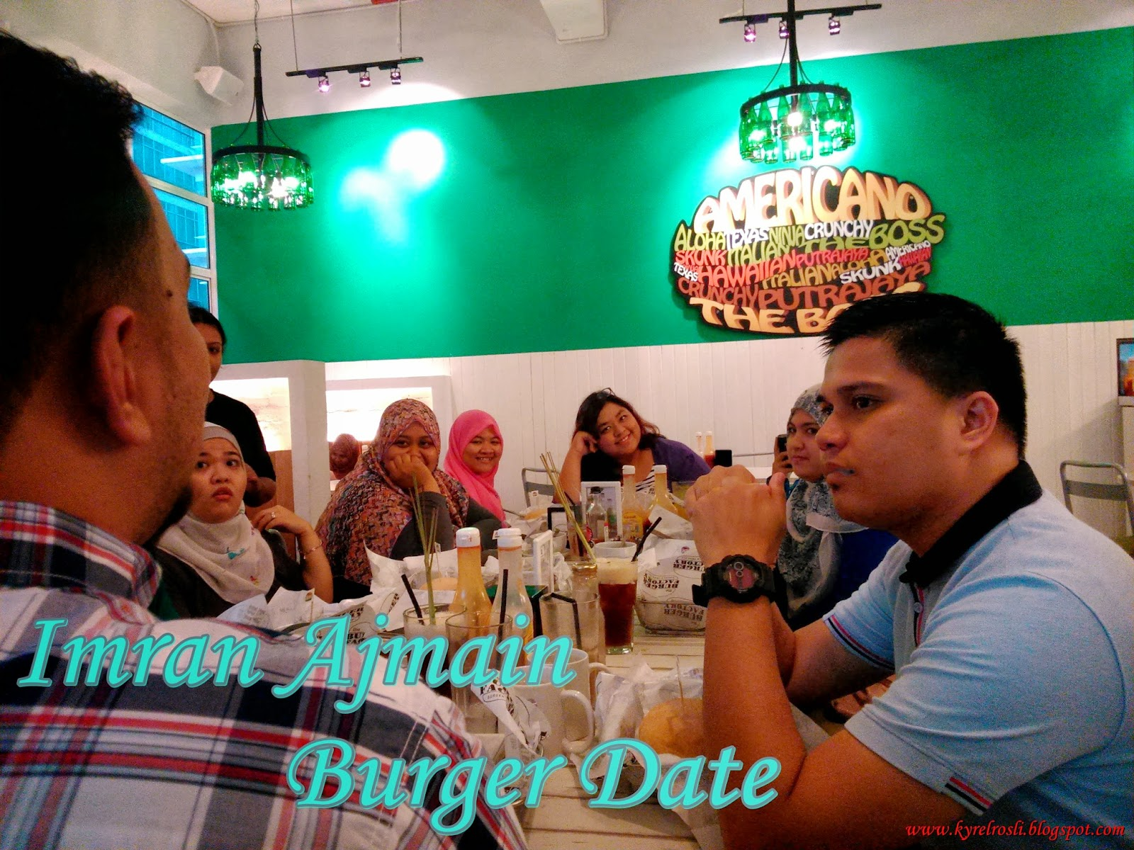 Imran Ajmain Burger Date