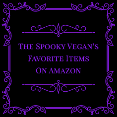 Spooky Vegan on Amazon