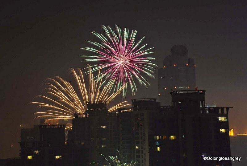 Chinese New Year Fireworks, Shanghai