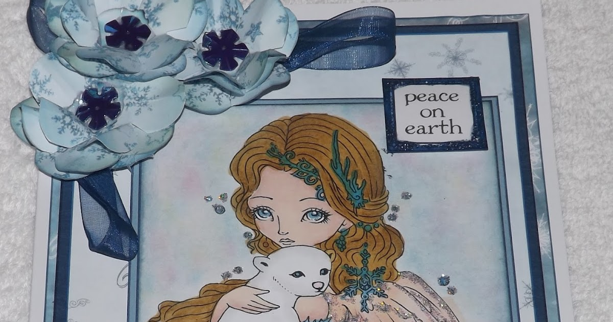 Kym S Crafty Cards Peace On Earth