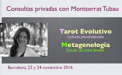 Consultas en Barcelona *** 23 y 24 noviembre