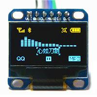 Wyświetlacz OLED SSD1306