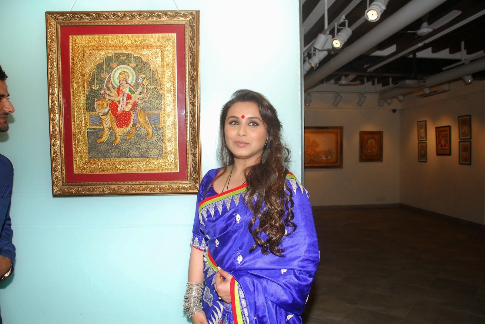 Rani Mukerji Launch Art Show An Art Collector's Paradise Event