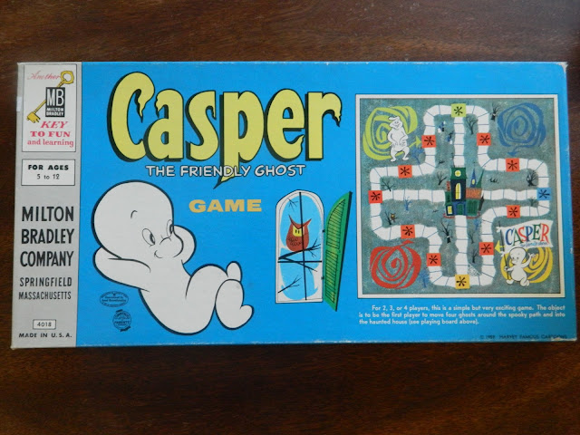1960s casper the friendly ghost boardgame vintage retro  Just Peachy, Darling