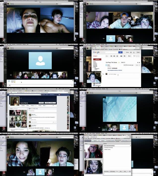 Unfriended 2014 Dual Audio Hindi 480p BRRip 260mb